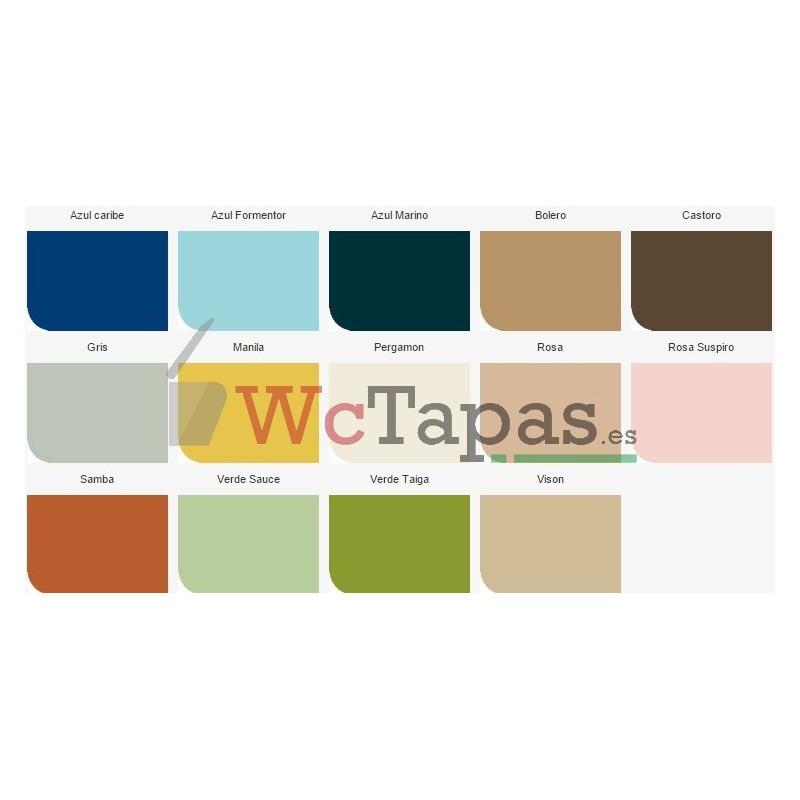 Tapa wc compatible dama senso roca for Sanitarios antiguos roca