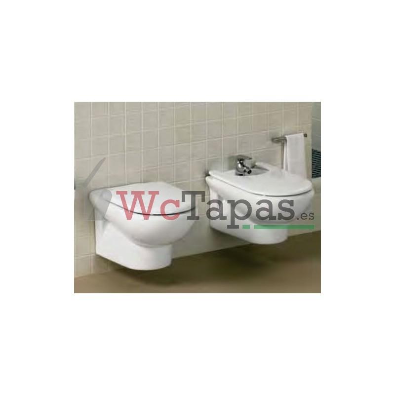 Tapa wc inodoro meridian roca for Tapas de wc universales