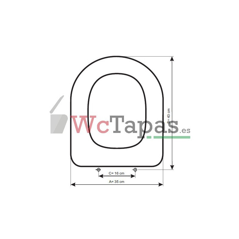 Asiento inodoro compatible stylo bellavista for Tapa wc gala universal