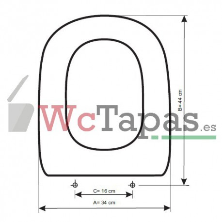 Tapa wc compatible dama retro roca - Tapa wc roca dama ...