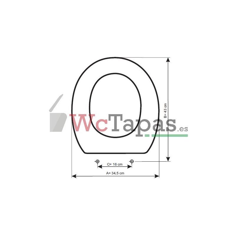 Tapa Wc Compatible Victoria Roca
