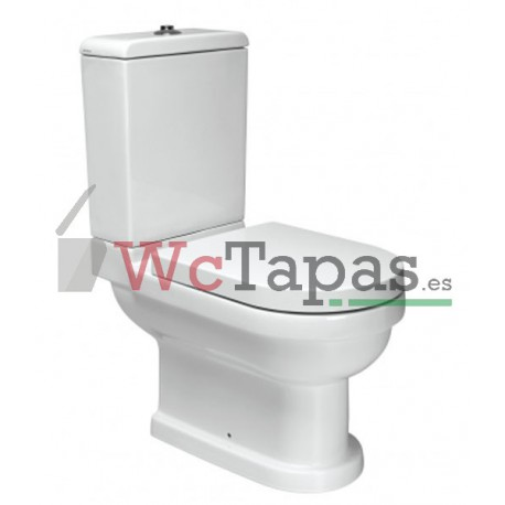 asiento inodoro vintage unisan wc tapas