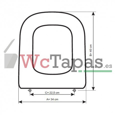Tapa wc compatible the gap compact roca - Tapas de wc roca ...
