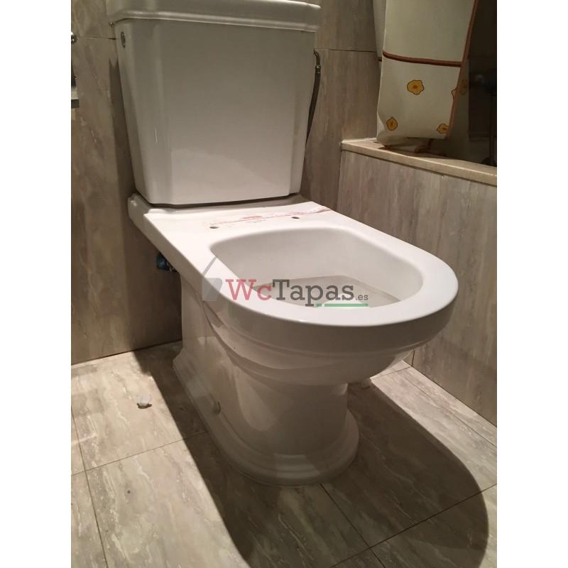Tapa wc compatible hommage villeroy boch - Tapas wc decoradas ...