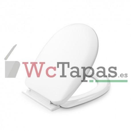 Tapa wc inodoro termoplast compatible victoria roca for Tapa wc victoria