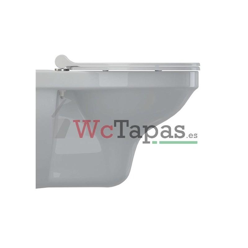 Tapa inodoro amortiguada universal duroplast slim redondo for Tapa wc gala universal