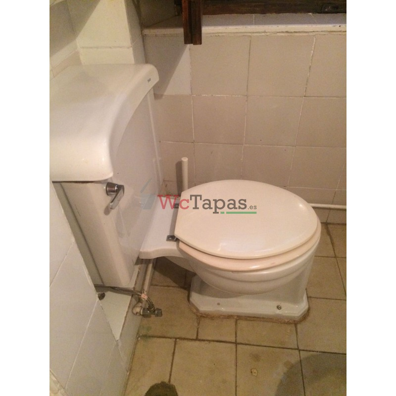 Tapa wc compatible concreto roca for Tapa cisterna roca