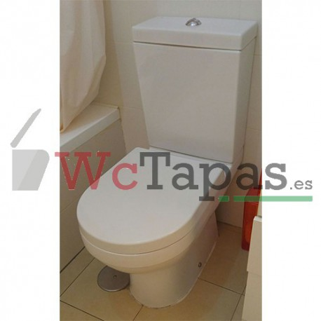 Tapa wc amortiguada nk program sc eu 2 noken porcelanosa - Tapas wc decoradas ...