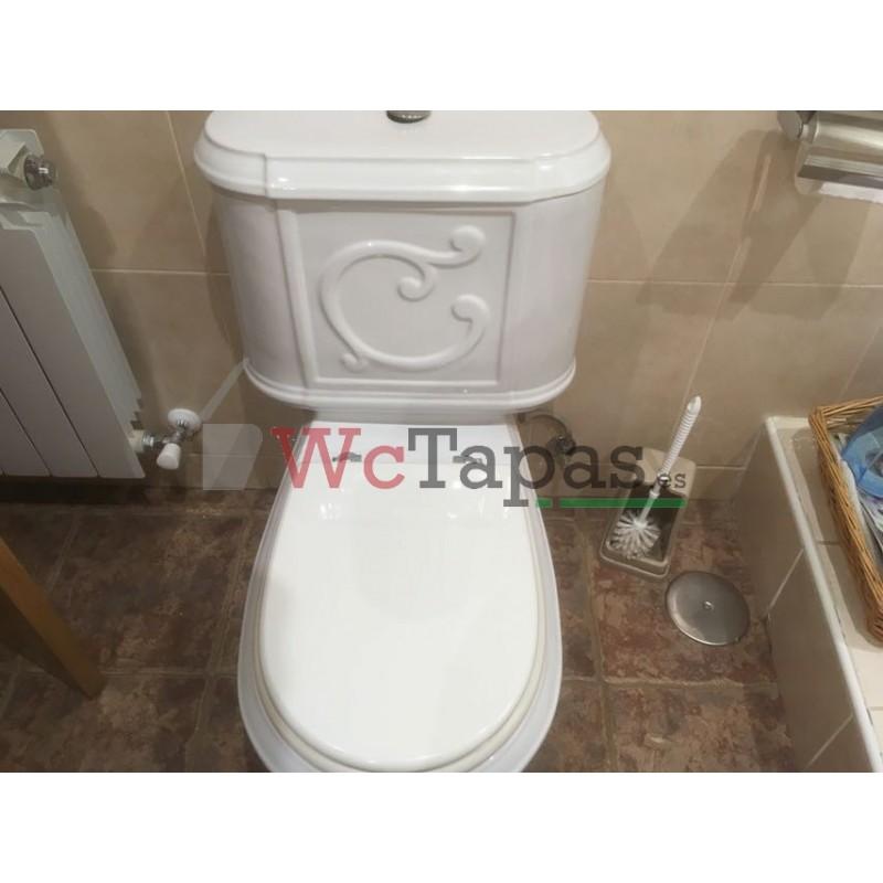 Tapa wc compatible thema valadares - Tapas wc decoradas ...
