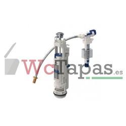 """Mecanismo Cisterna Universal Geberit serie 290-380 doble descarga alimentación lateral 3/8"""""""