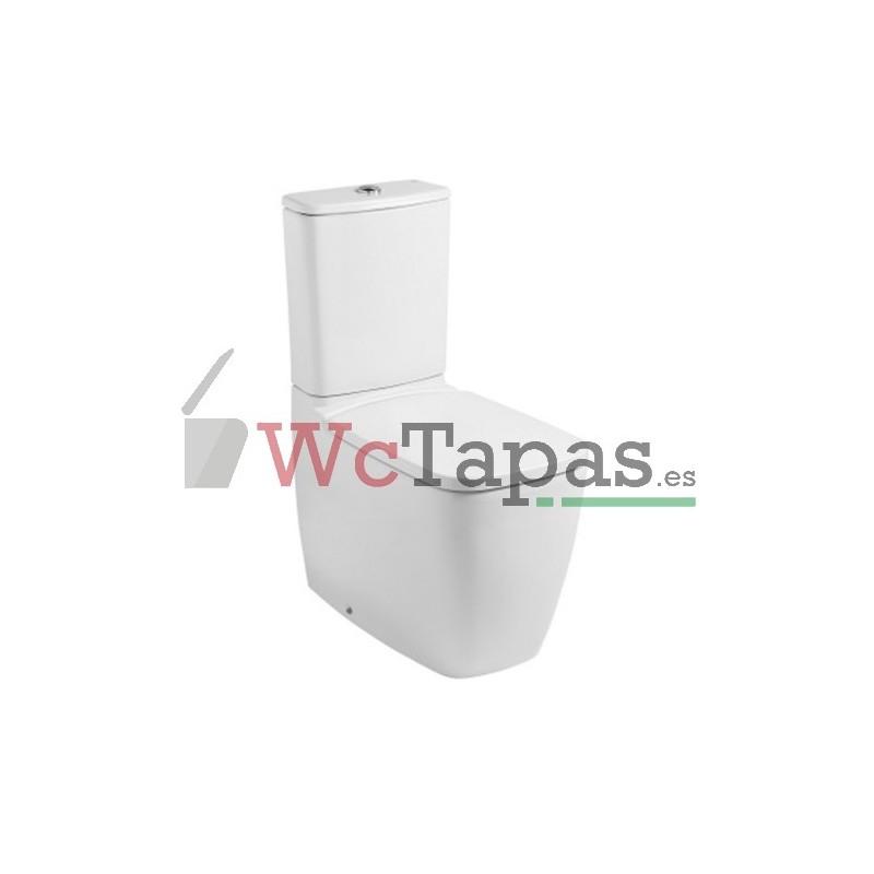 Asiento amortiguado inodoro eos gala wc tapas for Inodoro roca eos