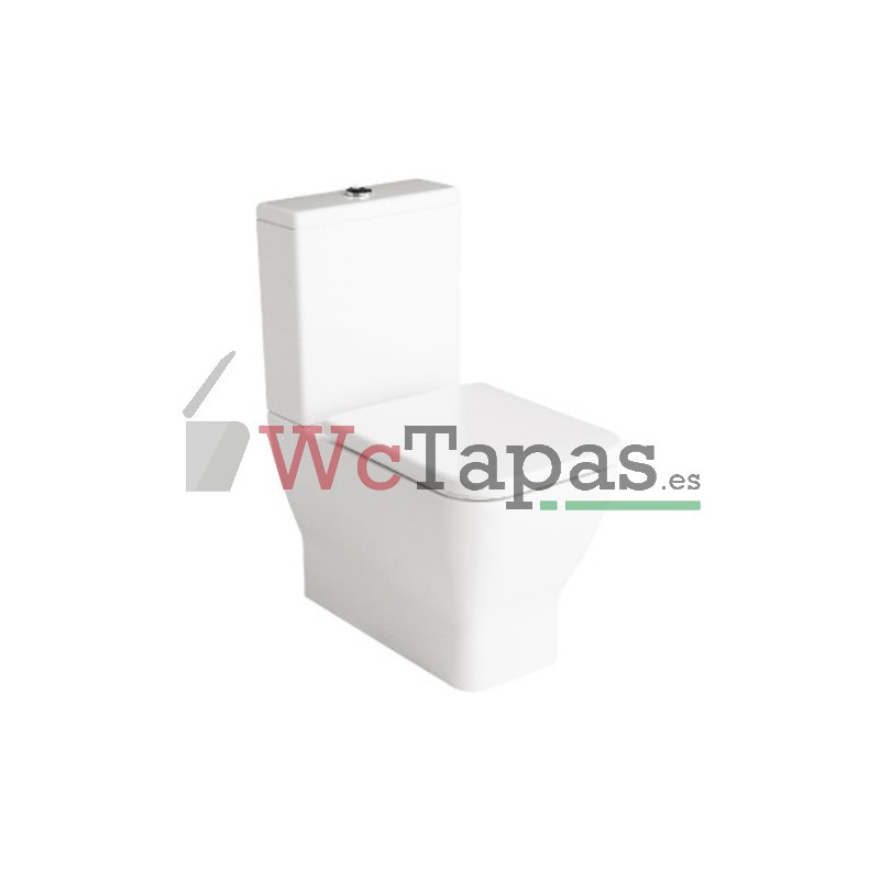 Asiento amortiguado inodoro emma square gala wc tapas for Inodoro gala universal