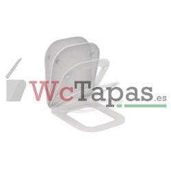 Asiento y tapa amortiguado Aquablade Ideal Standard.