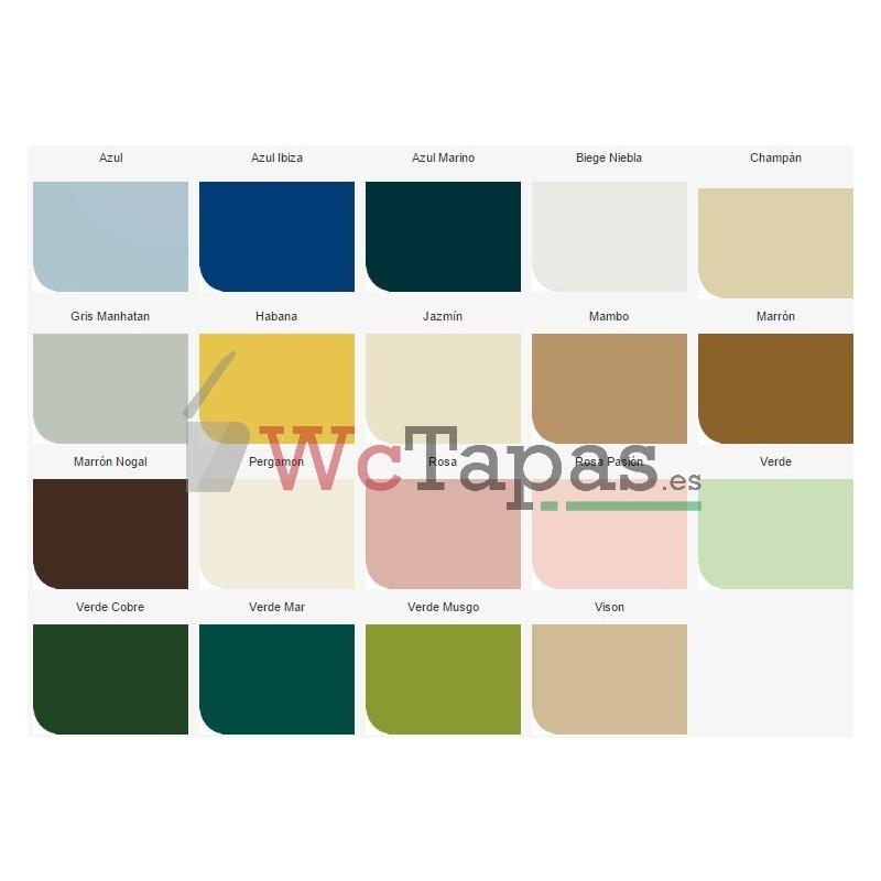 Asiento inodoro compatible capri bellavista for Tapa wc bellavista